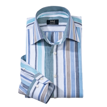Swiss Sartoriale Stripe Shirt