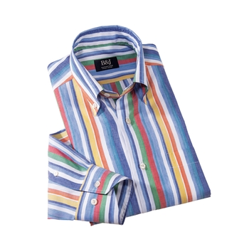 Gandria Stripe Swiss Shirt