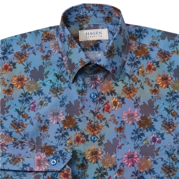 Floral Print Shirt from Hagen