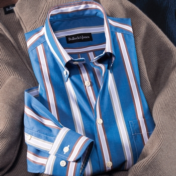 Belvedere Stripe Button-Down