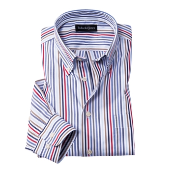 Laguna Rainbow Stripe Sport Shirt
