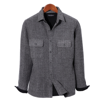 Monroe Wool/Alpaca Shirt Jacket