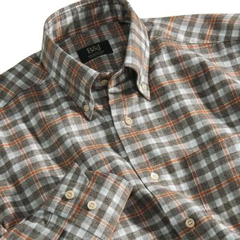 Grey Plaid Sartoriale Shirt