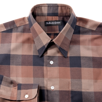 Robinson Flannel Block Check Shirt