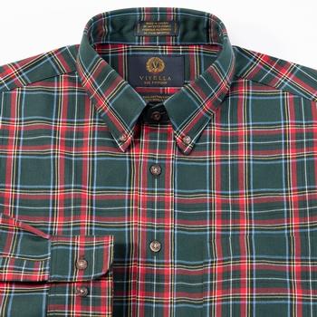 Viyella Plaid Sport Shirt