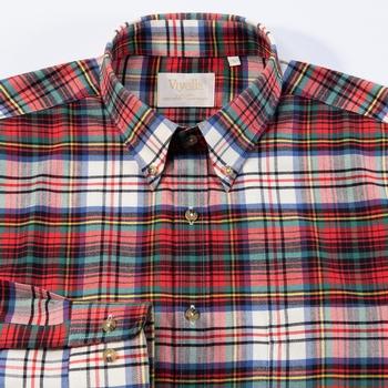 Viyella Plaid Shirt with Cashmere