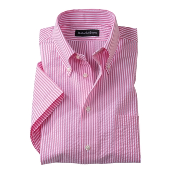 'Carmel' Seersucker Stripe Shirts