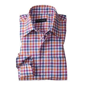 Burlingame Check Sport Shirt