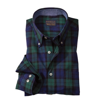 Tartan India Madras Sport Shirt