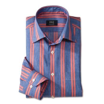 Marco Stripe Swiss Sartoriale Shirt