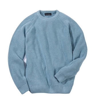 Bayshore Ribbed Pima Cotton Crewneck