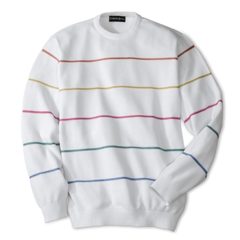 Costa Stripe Crewneck
