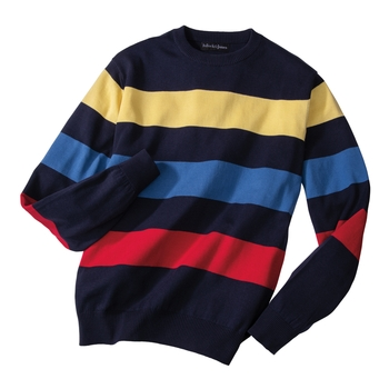 Pacifica Color Band Crewneck
