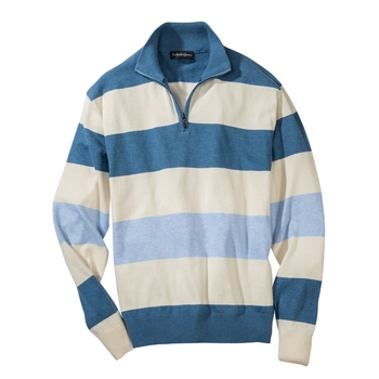 'Seaside Stripe Quarter-Zip