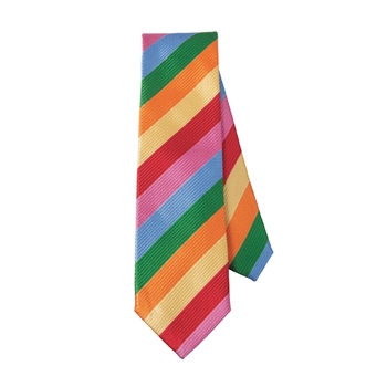 Brambilla 6-Color Stripe Tie