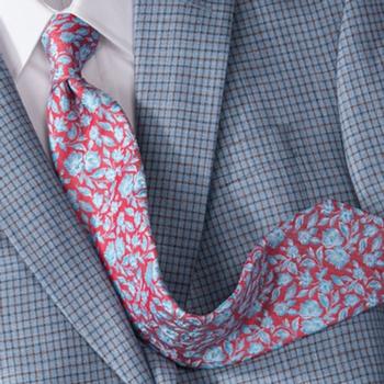 'Fiori' Print Tie