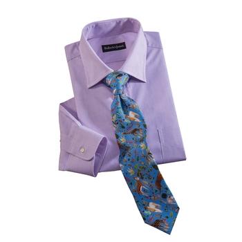Animale Silk Print Tie