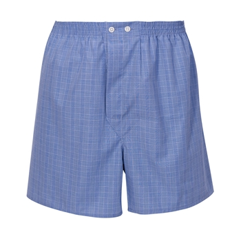Glen Plaid Boxer Shorts by Derek Rose
