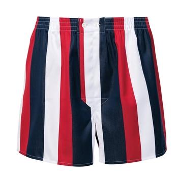 Bold Stripe Boxer Shorts by Derek Rose