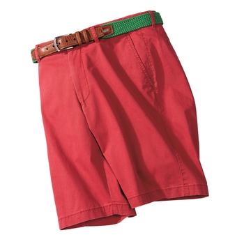 'Balboa' Washed Stretch Cotton Shorts