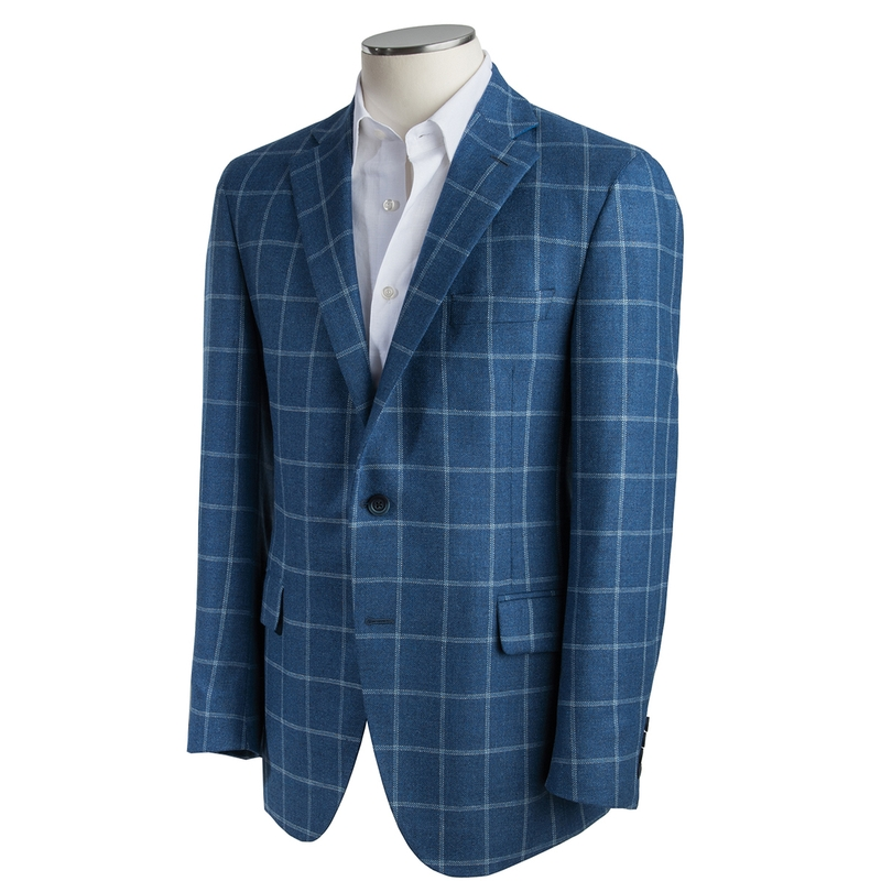 Saratoga Windowpane Sport Coat