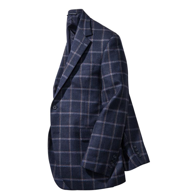 Belvedere Windowpane Sport Coat
