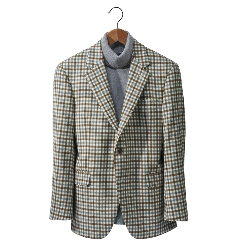 Montgomery Wool/Cashmere Check Sport Coat