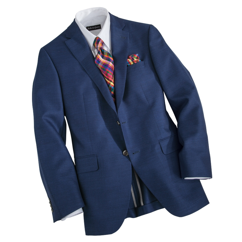 Lightweight Wool Travel Blazer