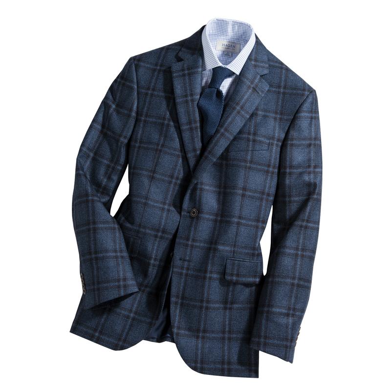 Stewart Cashmere Check Sport Jacket