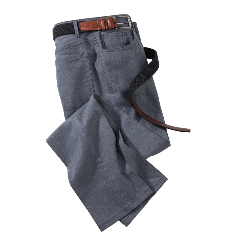 Flannel 5-Pocket Jeans
