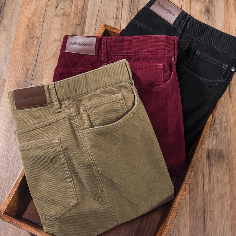 Adams Stretch Corduroy Jeans