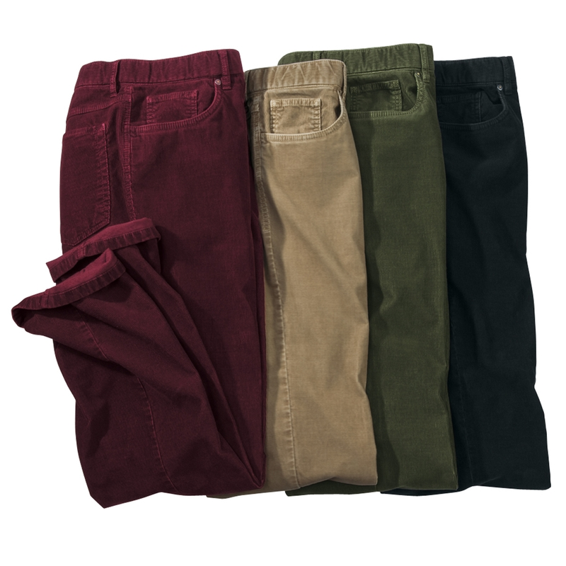 Stretch Corduroy 5-Pocket Jeans