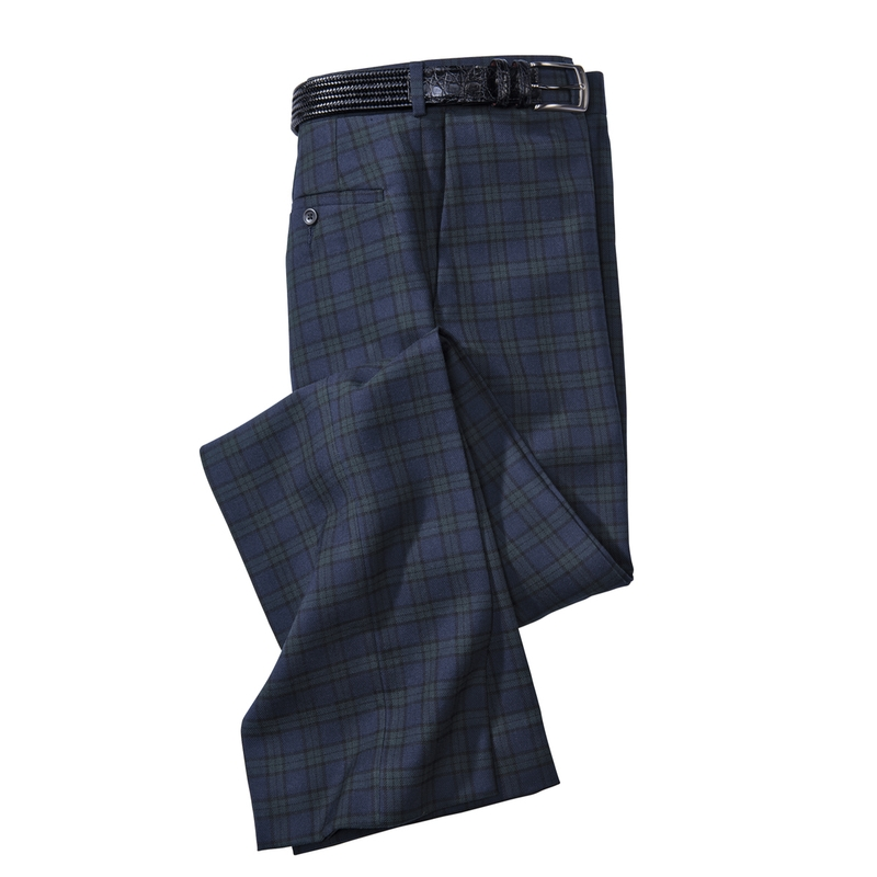 Bruce Plaid Slacks