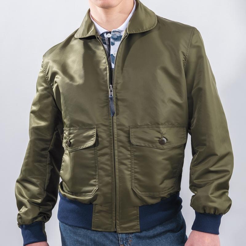 Mitchell Nylon Flight Jacket
