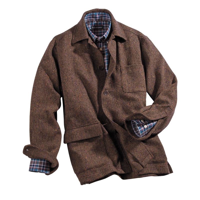 Elliot Donegal Tweed Soft Jacket