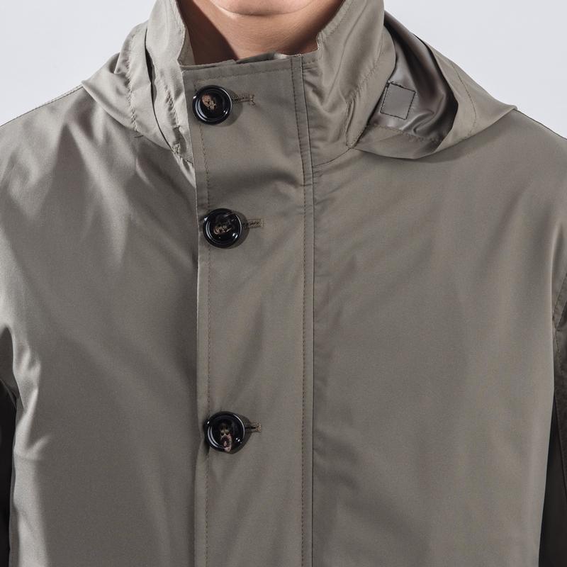 Stefano Italian Packable Pouch Jacket