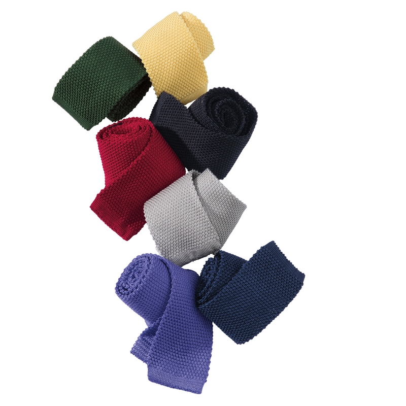 Italian Silk Knit Ties