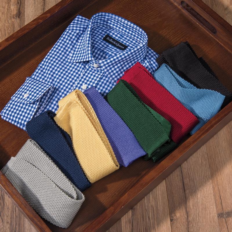 Italian Silk Knit Ties
