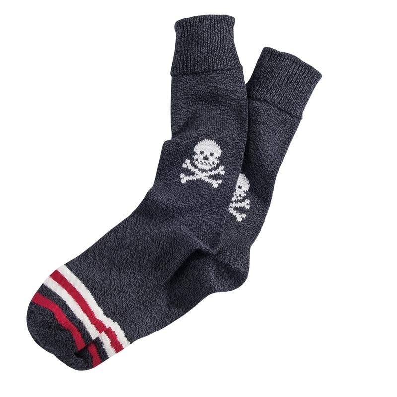 Skull & Crossbones Cotton Socks