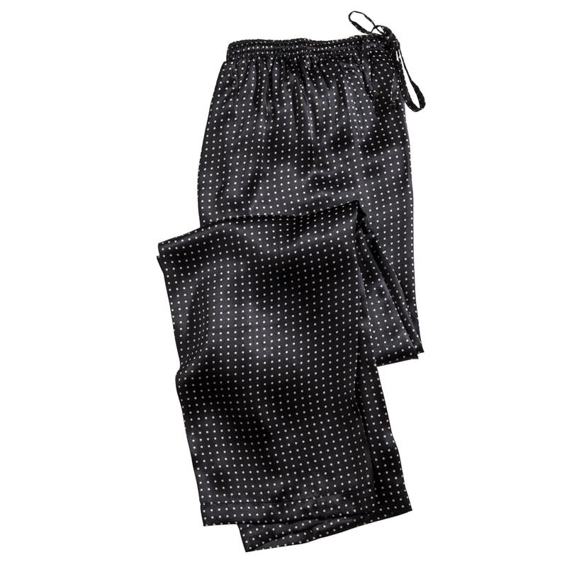 Dot Silk Pajamas