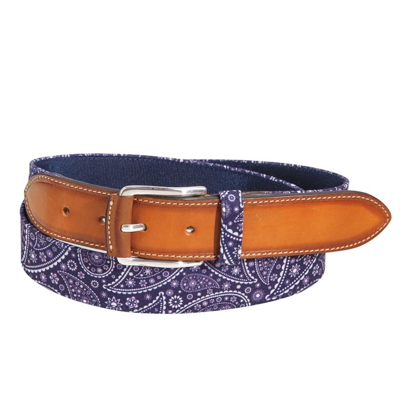 Paisley Bandana Belt