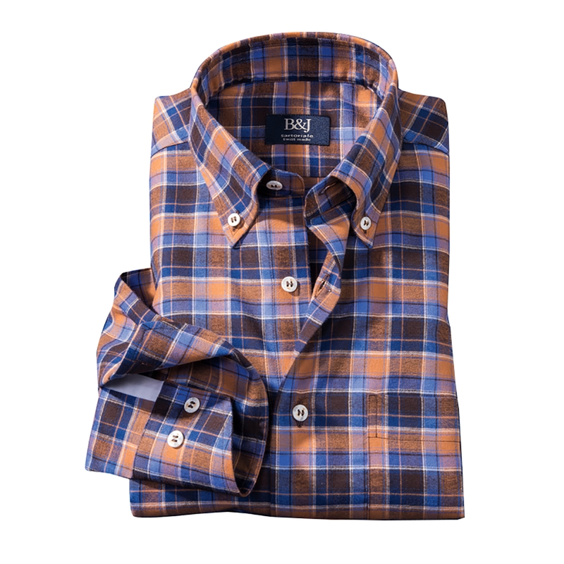 Zermatt Plaid Swiss Sport Shirt
