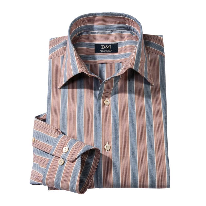 Arzo Stripe Swiss Sport Shirt