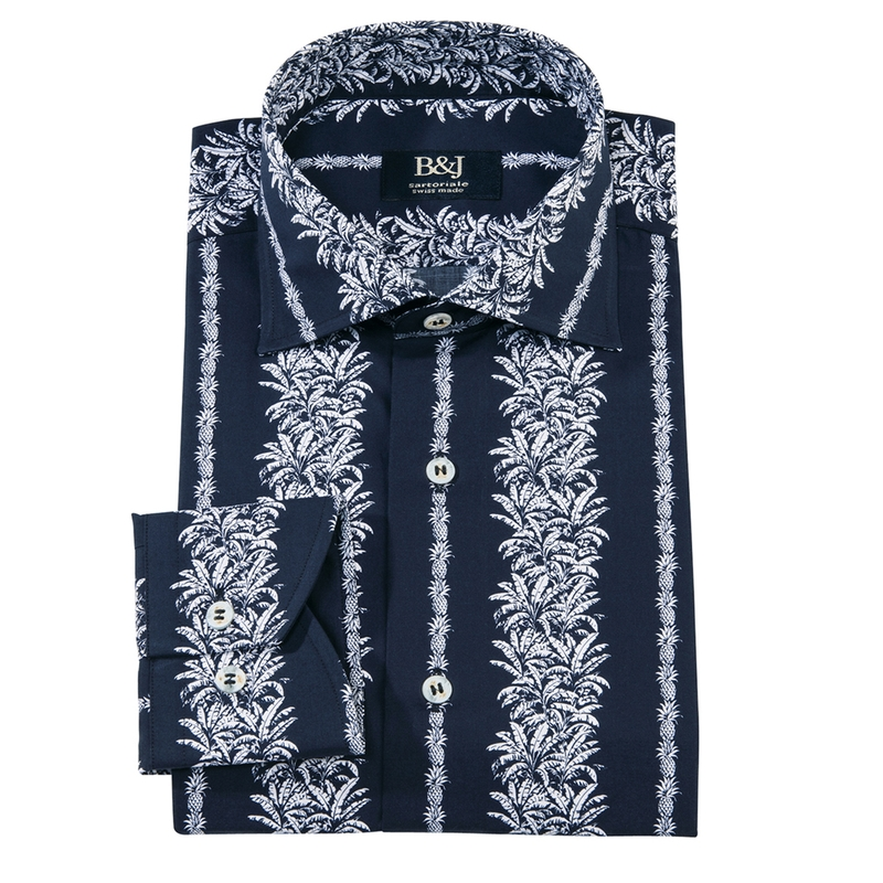 Sartoriale Pineapple Print Shirt