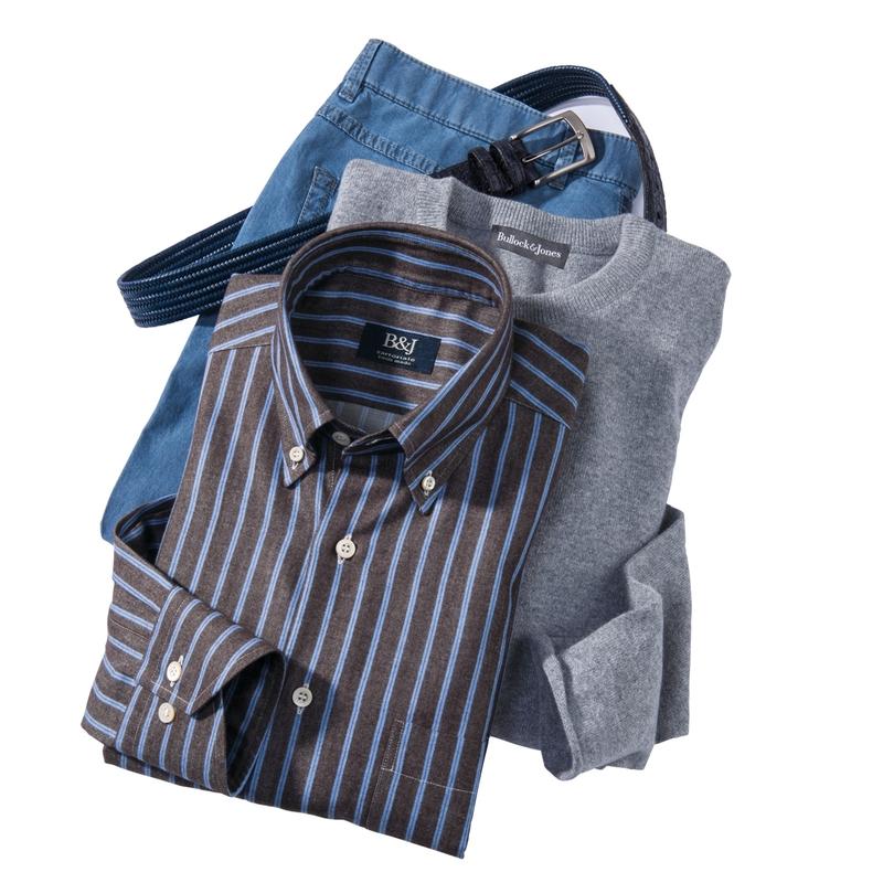 Montreaux Stripe Swiss Sport Shirt
