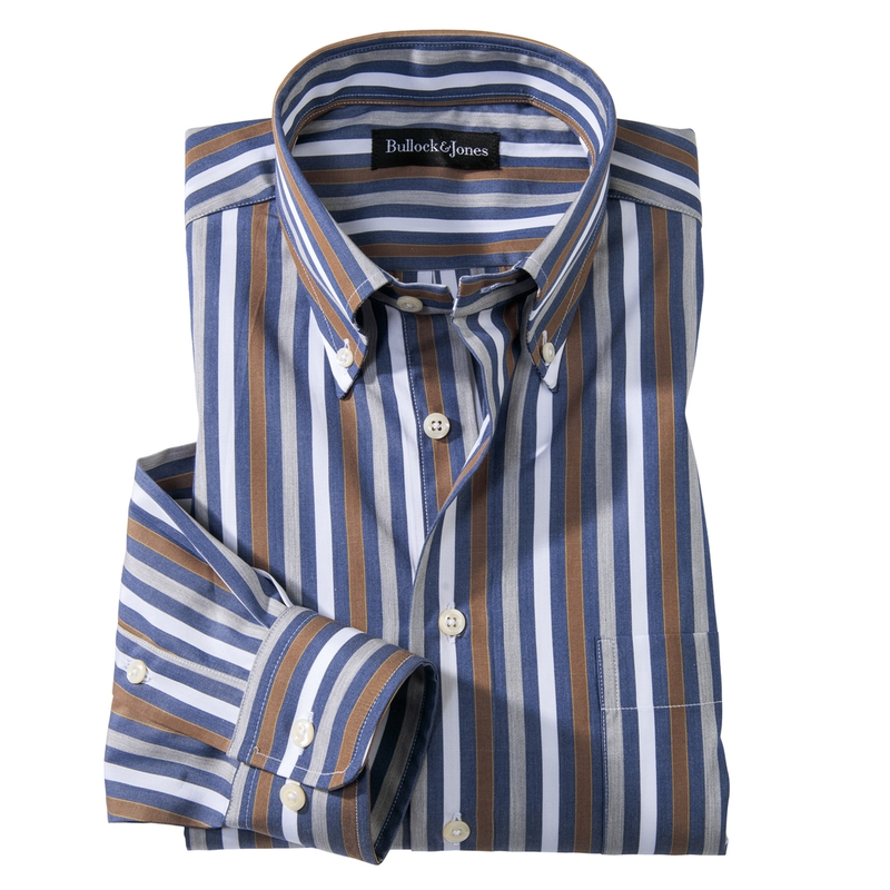 Mitchell Multi-Stripe Button-Down