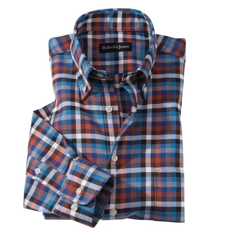 Portland Twill Check Sport Shirt