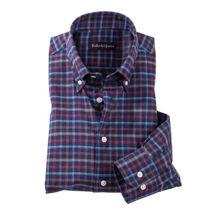 Roberts Plaid Twill Sport Shirt