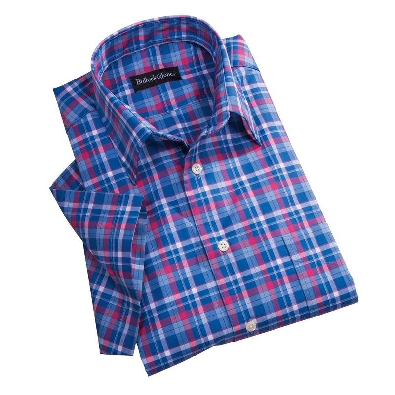 Stinson Plaid Short Sleeve Sport Shirt