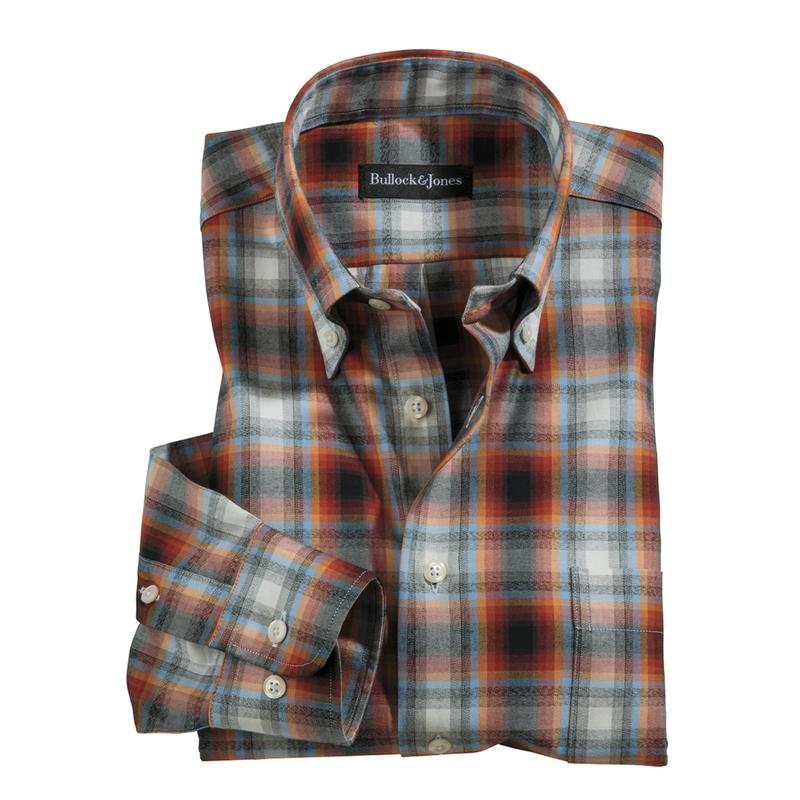 Ombre Check Sport Shirt